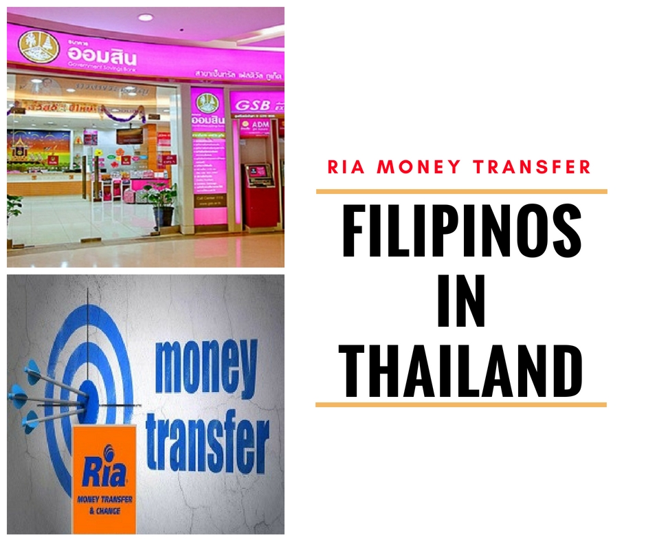 Ria Money Transfer S High Exchange Rate Excites Filipinos In Thailand